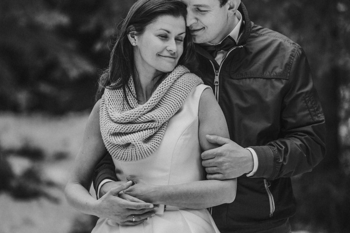 gdzie na plener ślubny w zimie, zimowe zdjęcia ślubne, ślub w górach