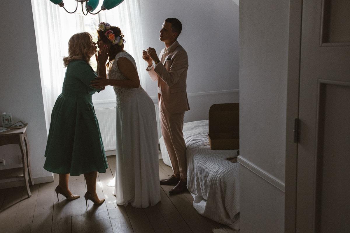 osada młyńska przygotowania ślubne