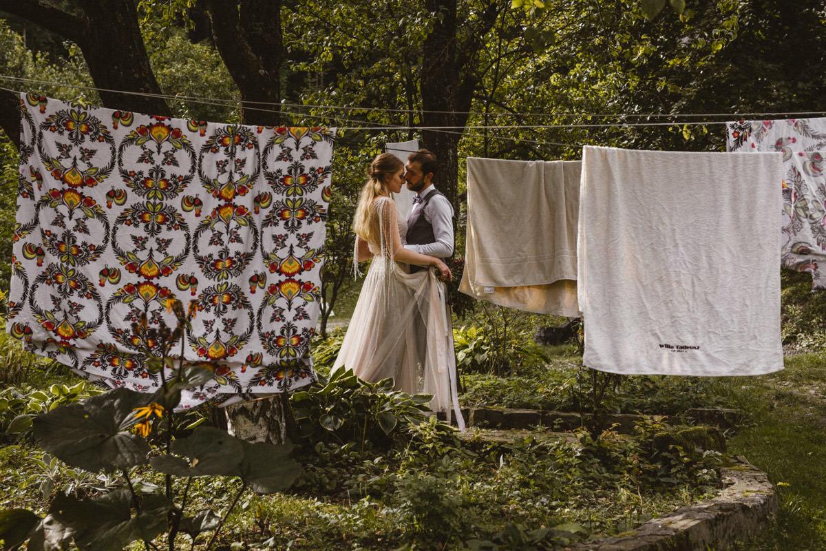 plener ślubny w lanckoronie
