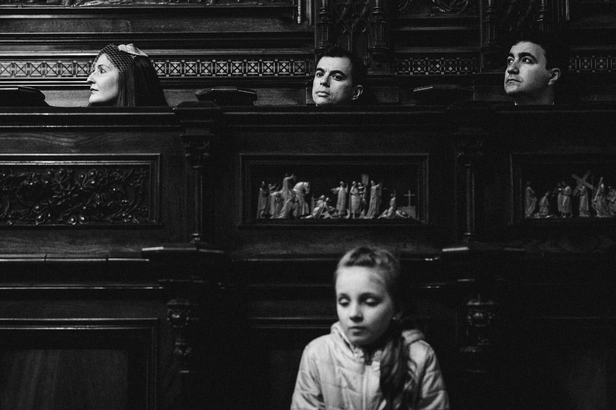 nawy w kościele franciszkanów