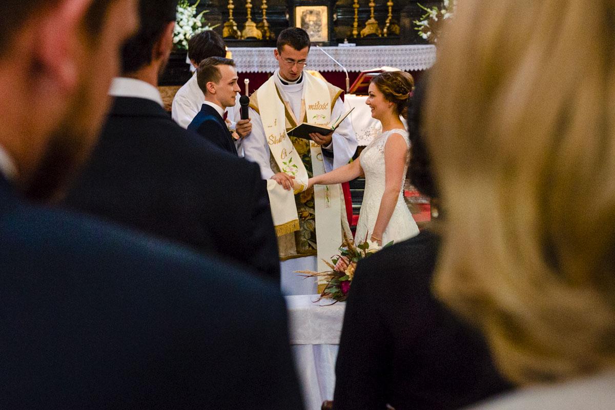 przysięga ślubna państwa młodych