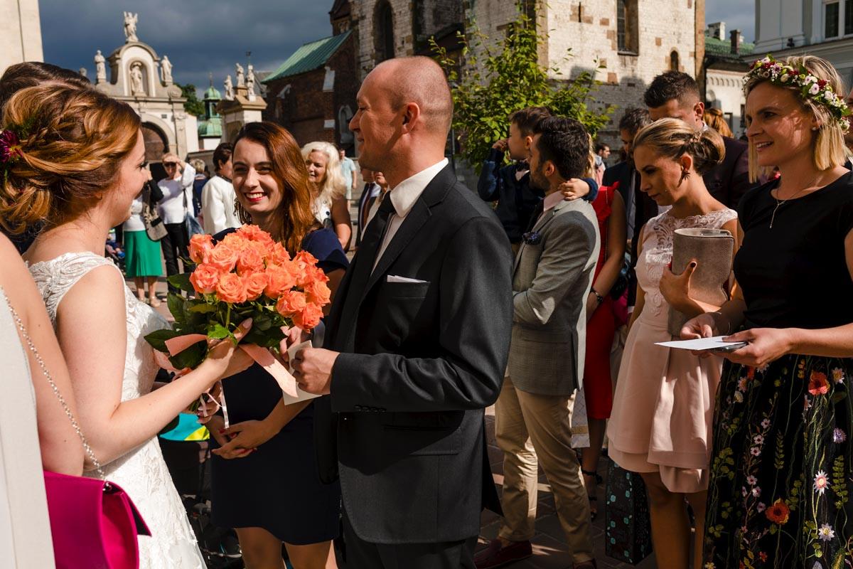 życzenia ślubne w krakowie