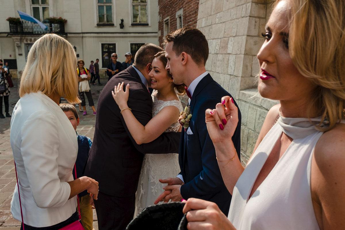 ślub w krakowie na rynku