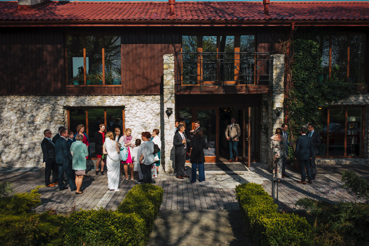 ślub w dworze w tomaszowicach