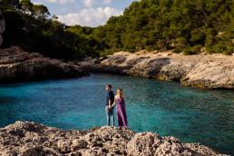 Zagraniczna sesja narzeczeńska na Majorce