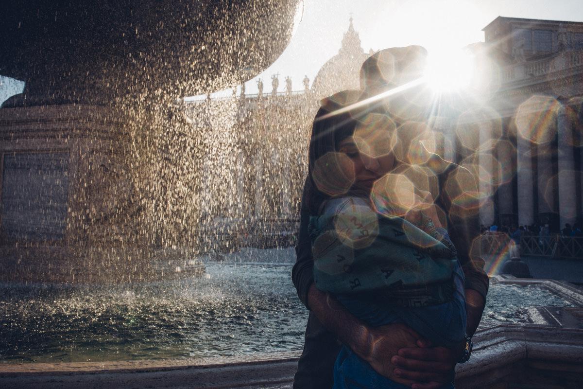 fontanna na placu św piotra