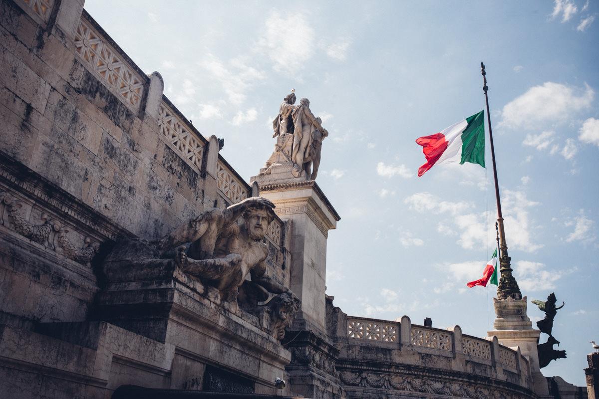 plener w rzymie