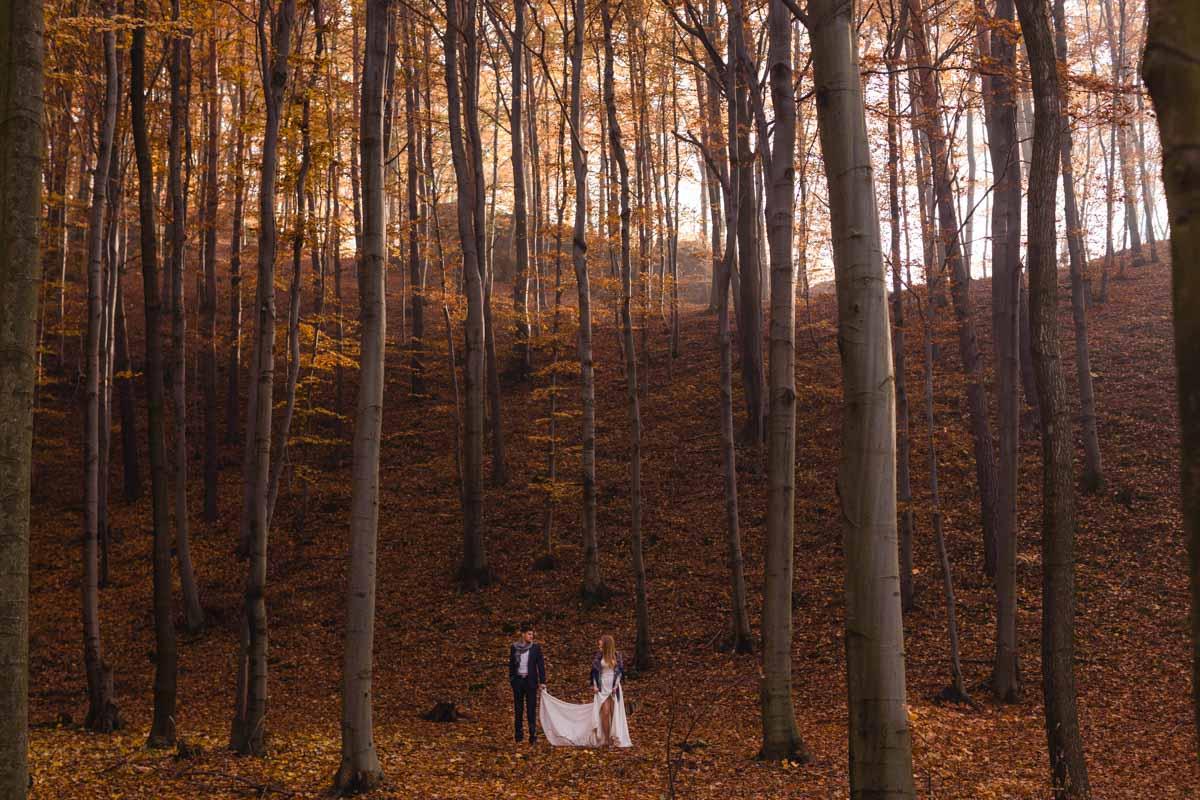 zdjęcia ślubne o wschodzie, zdjęcia ślubne