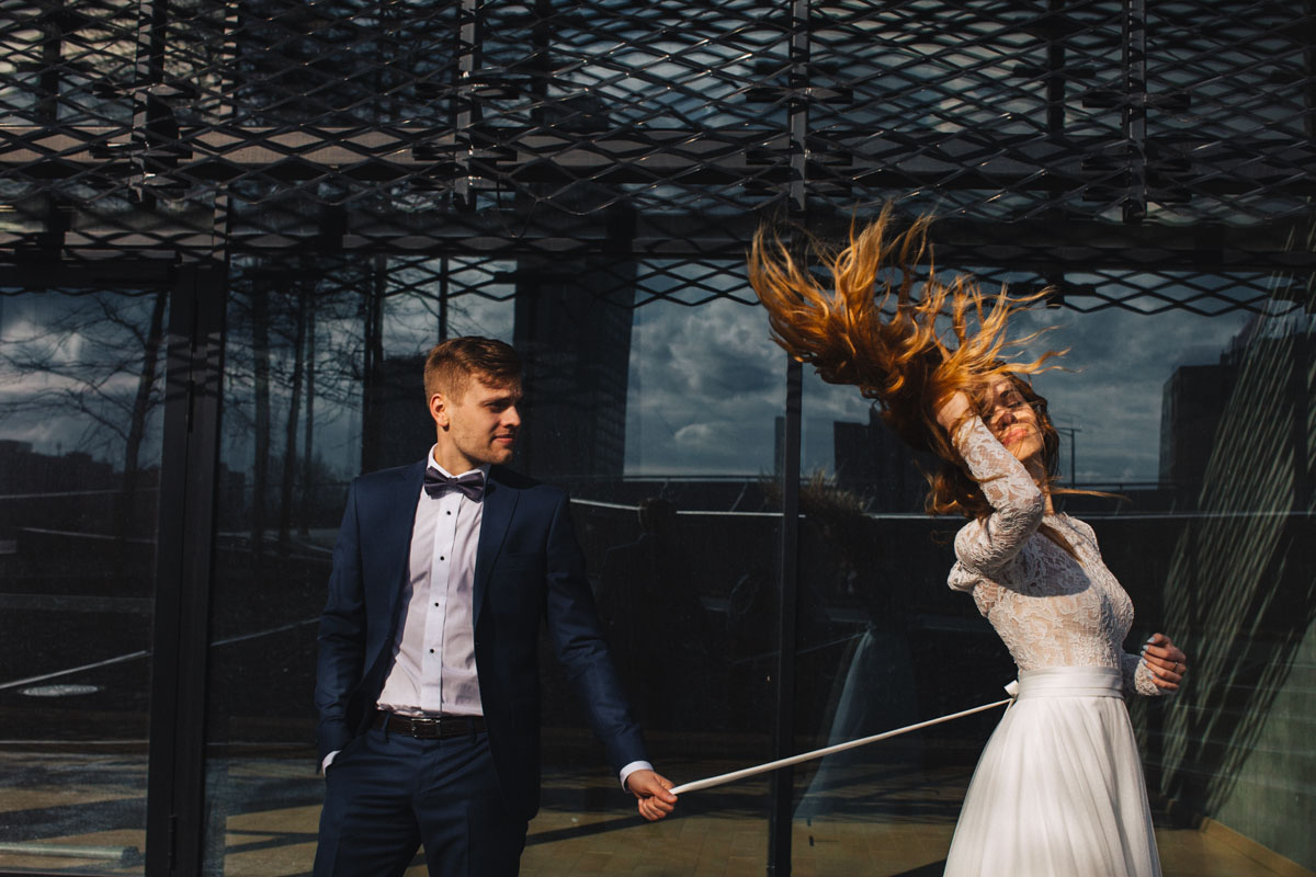 Strefa kultury-plener ślubny Katowice