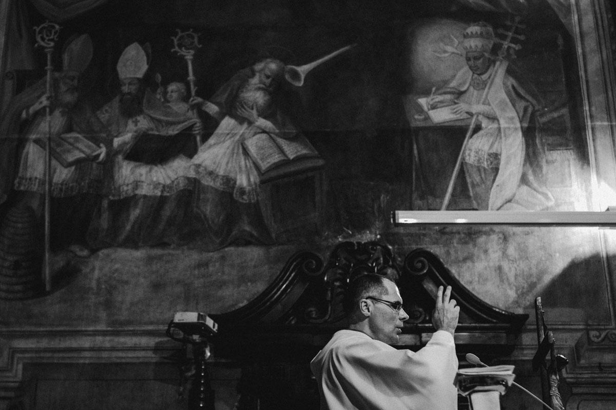 Przeor ojców Dominikanów