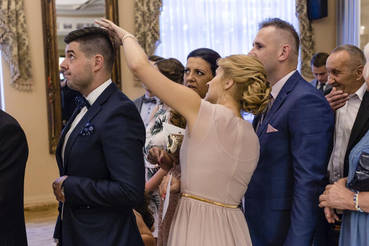 Goście weselni