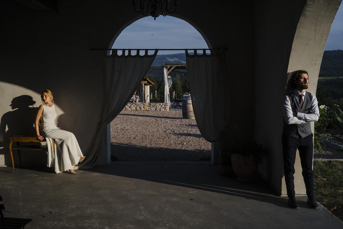 plener ślubny villa Love